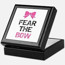Fear the bow Keepsake Box