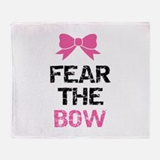 Fear the bow Stadium Blanket