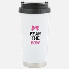 Fear the bow Stainless Steel Travel Mug