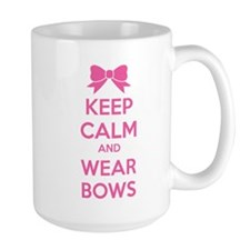 Keep calm and wear bows Mug