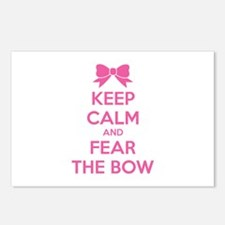 Keep calm and fear the bow Postcards (Package of 8