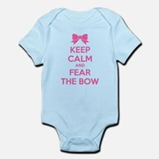 Keep calm and fear the bow Infant Bodysuit