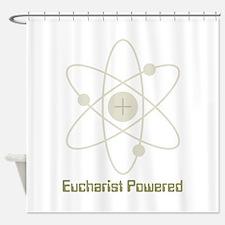 Eucharist Powered Shower Curtain