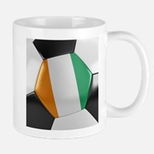 Ivory Coast Soccer Ball Mug