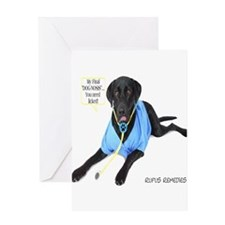 Funny Dog humping Greeting Card