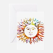 Sunface Greeting Cards