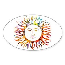 Sunface Decal