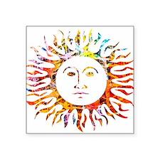 Sunface Sticker