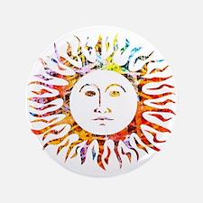 "Sunface 3.5"" Button"