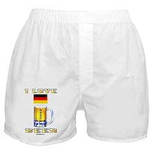 German Beer Boxer Shorts