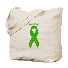 I Care About Tourette's Tote Bag