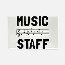 Music Staff Magnets