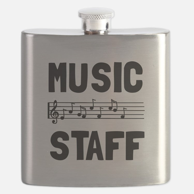 Music Staff Flask