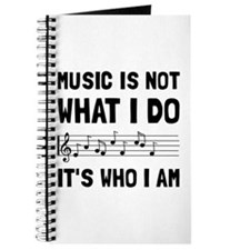 Music Who I Am Journal