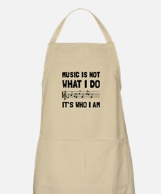 Music Who I Am Apron