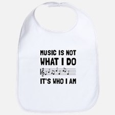 Music Who I Am Bib