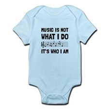 Music Who I Am Body Suit