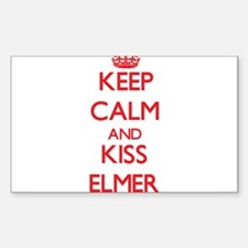 Keep Calm and Kiss Elmer Decal