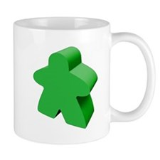 Green Meeple Mugs