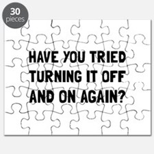 Off And On Again Puzzle