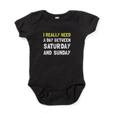 Saturday Sunday Baby Bodysuit