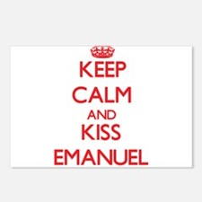 Keep Calm and Kiss Emanuel Postcards (Package of 8
