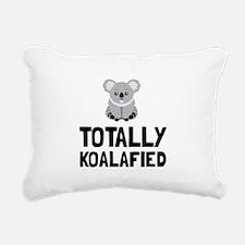Totally Koalafied Rectangular Canvas Pillow