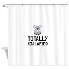 Totally Koalafied Shower Curtain