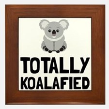 Totally Koalafied Framed Tile