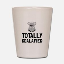 Totally Koalafied Shot Glass