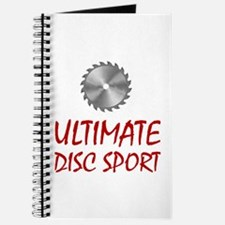 Ultimate Disc Sport Journal