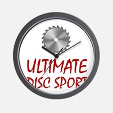 Ultimate Disc Sport Wall Clock