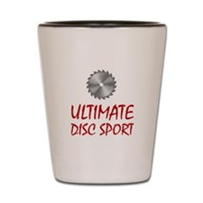 Ultimate Disc Sport Shot Glass