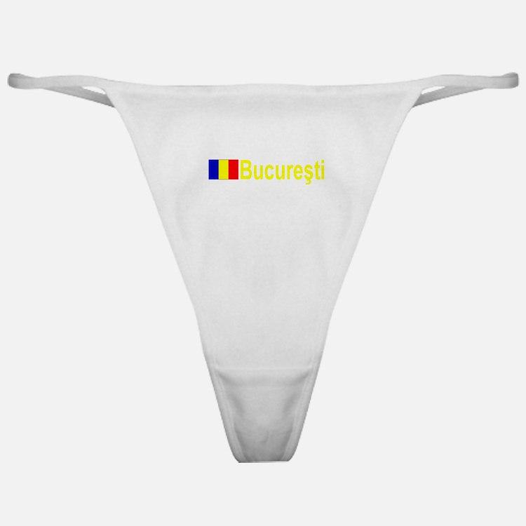 Bucuresti, Romania Classic Thong