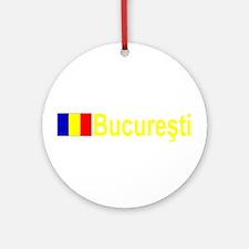 Bucuresti, Romania Ornament (Round)