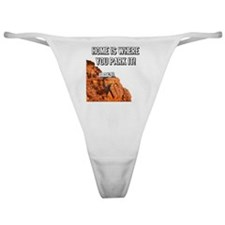 Home Is Where You Park It - Travel T Classic Thong