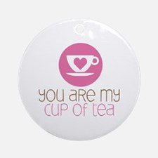 My Cup of Tea Ornament (Round)
