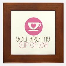 My Cup of Tea Framed Tile