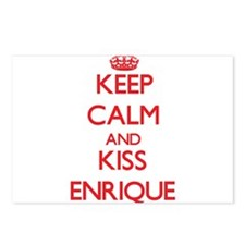 Keep Calm and Kiss Enrique Postcards (Package of 8