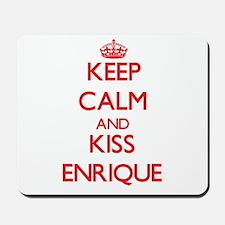 Keep Calm and Kiss Enrique Mousepad