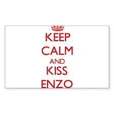 Keep Calm and Kiss Enzo Decal