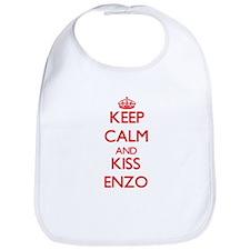 Keep Calm and Kiss Enzo Bib