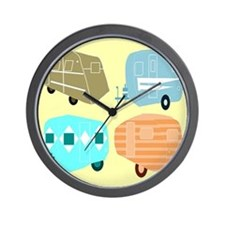 Rambling RVs Wall Clock