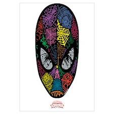 Spiderman Face Wall Art