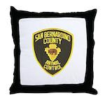 Berdoo Animal Control Throw Pillow