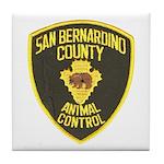 Berdoo Animal Control Tile Coaster