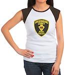 Berdoo Animal Control Women's Cap Sleeve T-Shirt