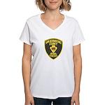 Berdoo Animal Control Women's V-Neck T-Shirt