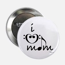 i love mom Button