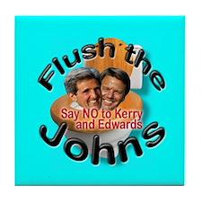 Flush Kerry & Edwards Tile Coaster